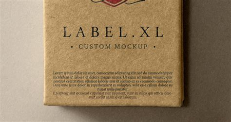 psd label brand mockup vol psd mock  templates pixeden