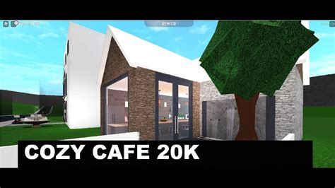 Menu welcome to blox burg roblox. COZEY CAFE 20K BLOXBURG! - YouTube