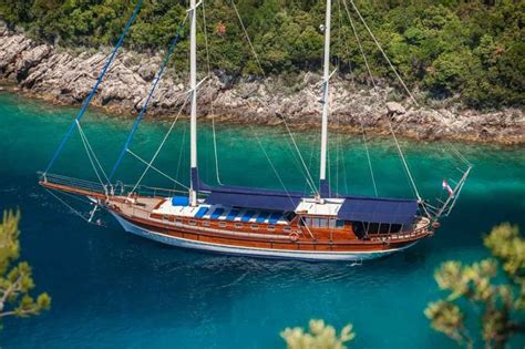 Boat Cruise Turkey by Gulet A Turkish Motor Boat Only Pretending To Be Sailing