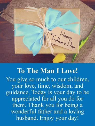 today   husbands big day     fathers