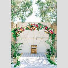The Most Fun Tropical Wedding Theme You've Ever Seen