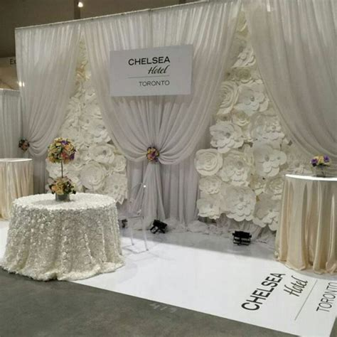 beautiful paper flower backdrop wedding ideas  oosile
