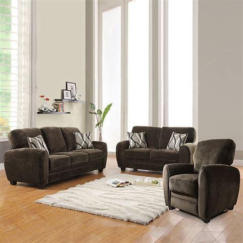 daventry  piece chocolate living room set  shipping