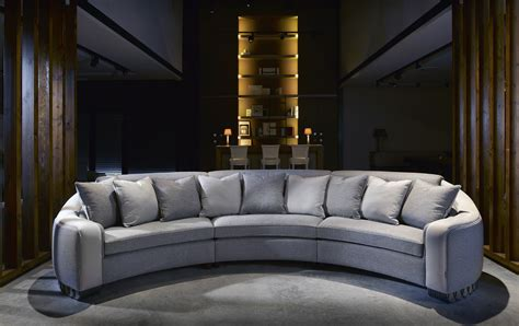 Curved Corner Sectional Sofa by The Corner Sofa Curved Sofa