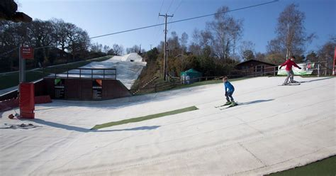 warmwell holiday park offers ski slope fishing lakes