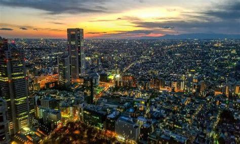 gambar kota tokyo  pemandangan malam  siang hari jejakpiknikcom