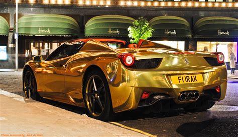 Colore, Londra, Automobili, Oro, Ragno, Italiano