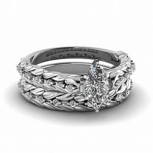 marquise cut engagement rings fascinating diamonds With marquise diamond wedding ring sets