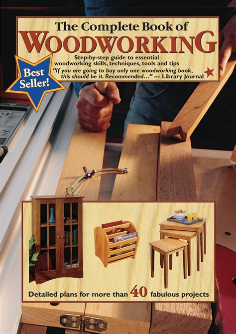 complete book  woodworking step  step guide