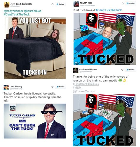 Tucker Carlson Memes - fox news new prime time host tucker carlson is beloved by neo nazis and misogynists