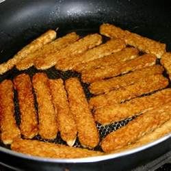 Frying Tempeh