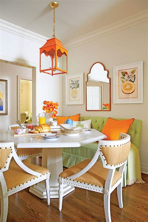 eat in kitchen design eat in kitchen design ideas southern living 7018