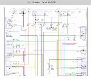 Headlight Wiring Diagram  Looking For A Headlight Wiring