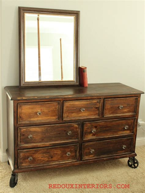 Trashy Tuesday  Country Style Dresser Turned Industrial Chic