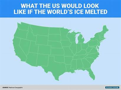 Ice Change Earth Climate Melted Melts Would