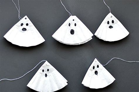 Halloween Crafts For Kids  Simple Ghost Craft  Fun Littles