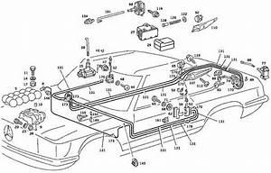 1987 Mercedes 560sl Vacuum Diagram  Mercedes  Auto Wiring Diagram