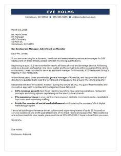 Restaurant Manager Resume Sle by Application Cover Letter Exles Do You Any