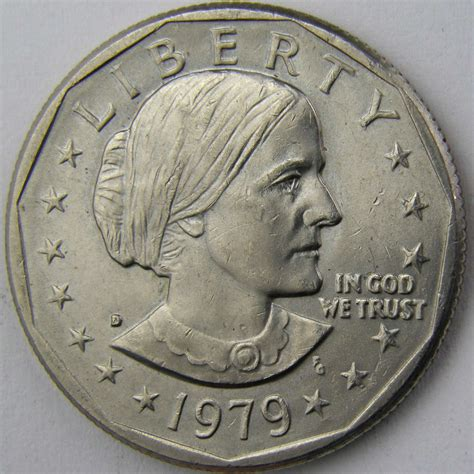 1979 one dollar coin 1979 d susan b anthony dollar 3 for sale buy now online item 69175