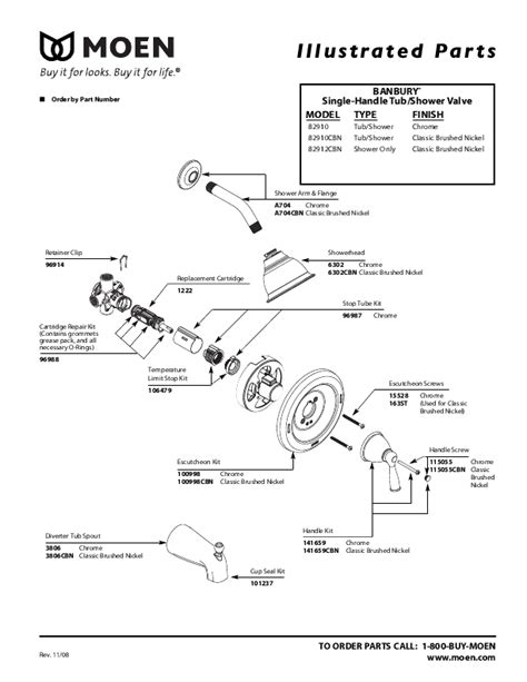 Moen Banbury Parts Diagram Downloaddescargar