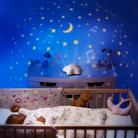 pabobo musical projector baby nursery light