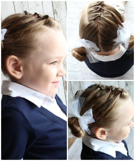 10 Fast & Easy Hairstyles For Little Girls Everyone Can Do