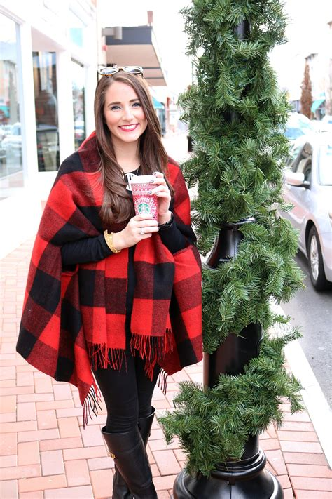 buffalo plaid cape lauren