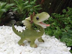 Miniature dollhouse fairy garden mini dragon figurine for Fairy garden figurines