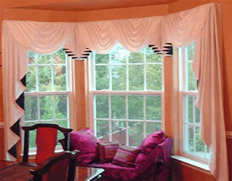 curtain rods corner window treatments for small bow windows picture spotlats