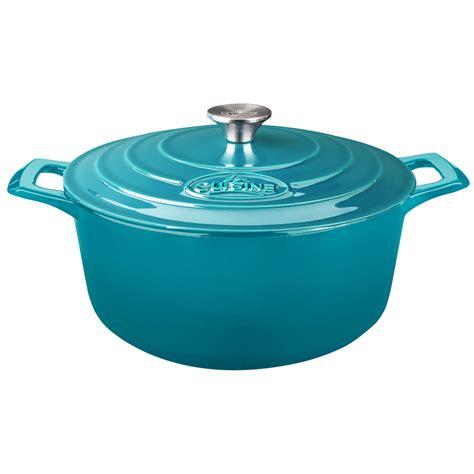 lave cuisine pro la cuisine pro 6 5 qt cast iron casserole with