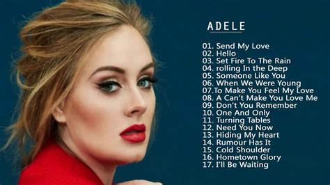 Best Of Adele by Adele Greatest Hits Best Songs Of Adele Playlist 2017