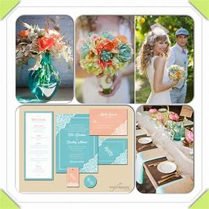Coral and Turquoise Wedding Inspiration   Coral and ...