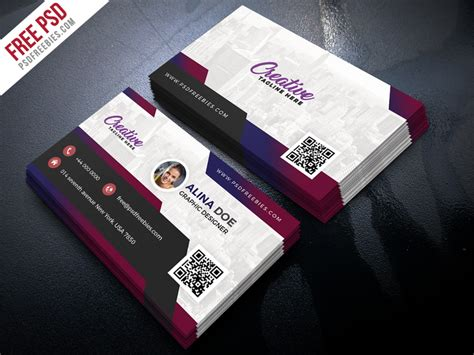 Free Modern Business Card Design Psd By Psd Freebies Business Plans Stink Test Model Canvas Huawei Customer Segments Nespresso Hypothesis Website High Resolution New
