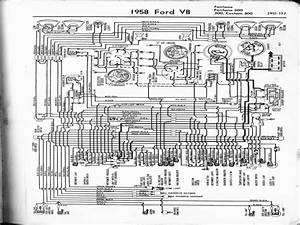 1958 Ford Fairlane 500 Wiring Diagram