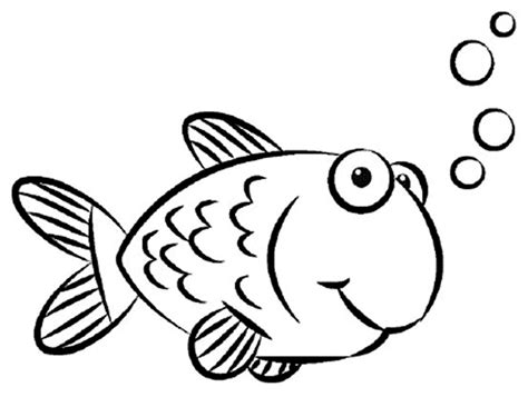 Coloring Fish by Print And Educative Fish Coloring Pages