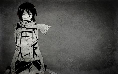 Black And White Anime Wallpaper - black anime wallpapers wallpaper cave