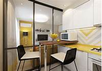 inspiring square kitchen plan 4 Inspiring Home Designs Under 300 Square Feet (With Floor Plans)