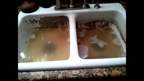 clogged kitchen sink    combined