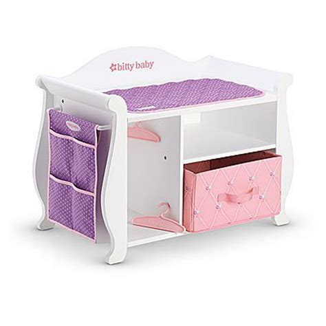 baby alive changing table american bitty baby changing table storage 2015 for