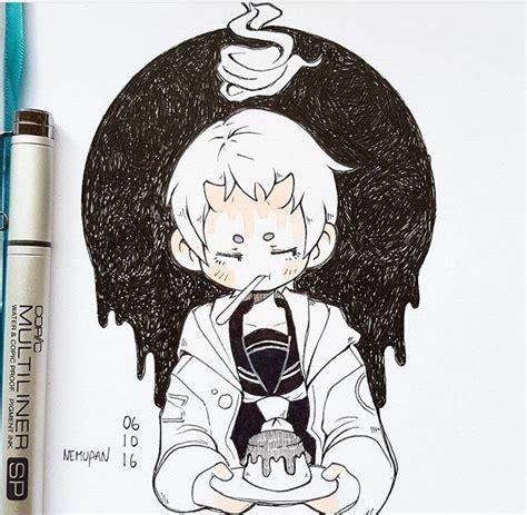 nemupan instagram character art anime art kawaii art