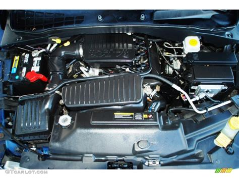 Dodge Durango Engine by 2005 Dodge Durango Slt 4 7 Liter Sohc 16 Valve V8 Engine