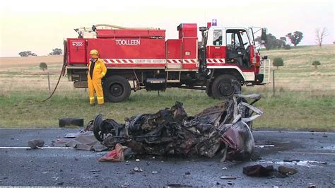 Fatal Overtaking Collision In Myola Near Bendigo. 14/03/12