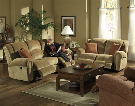fabric reclining sofas and loveseats fabric modern grove park reclining sofa loveseat set