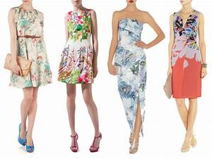 floral wedding guest dresses onefabdaycom With funky wedding guest dresses