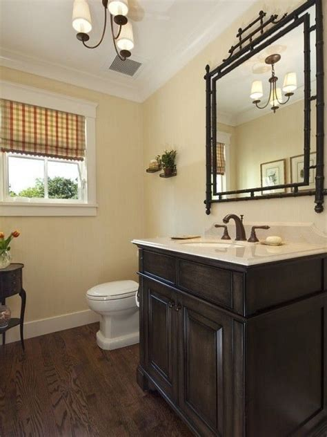 reference  bathroom black wood floors modern