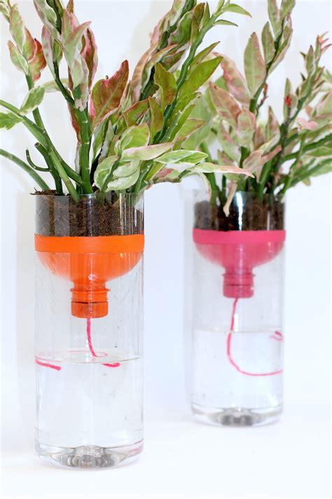 self watering planters diy diy self watering planters