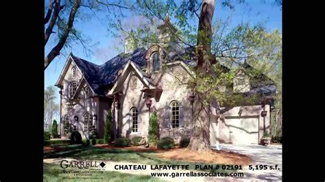 chateau lafayette house plan   garrell