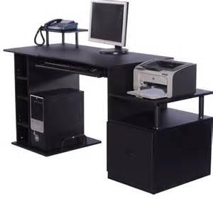 computer pc desk table desktop laptop wood cabinet