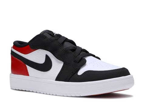 Air Jordan 1 Low Alt Ps Black Toe White Gym Red Bq6066 116