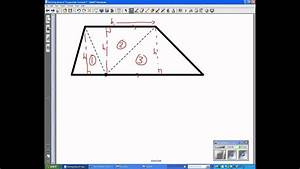 Deriving Area Of Trapezoids Formula